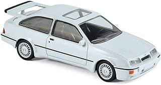 Norev NV270559 Maxijet 1986 Ford Sierra RS Cosworth Diecast Model Toy, Blanco, Escala 1:43