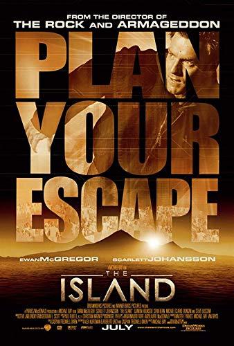 ISLAND (2005) Original Authentic Movie Poster - 27x40 - Dbl-Sided - Rolled - Ewan McGregor - Scarlett Johansson - Djimon Hounsou - Sean Bean