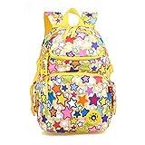 GudeHome Leicht Schule-Rucksack nett Schulter-Rucksack Schultaschen für Teens Mädchen- Glücklich Star