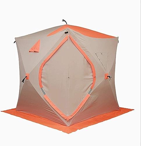 Zcx Tente Tente de pêche Professionnelle épaissie Froid Hiver Chaud Pêche Pêche sous la Glace Tente de pêche de Nuit étanche Construction Libre Vitesse Ouvrir