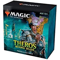 Magic The Gathering: Theros Beyond Death プレリリースパック (プレリリースプロモ + ブースター6個 + d20スピンドダウンカウンター) キット