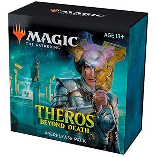 Magic The Gathering: Theros Beyond Death Prerelease Pack (Pre-Pelease Promo + 6 Boosters + d20 Spindown Counter) Kit