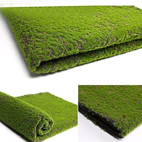 El Musgo Artificial Falsos Plantas Verdes Faux Musgo Hierba por Shop Patio Decoración Pared del jardín de la decoración de la Sala de Estar Supplies100 * 100cm (Color : Colorful)