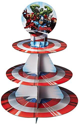 Wilton Marvel Avengers Treat Stand, Multicolor