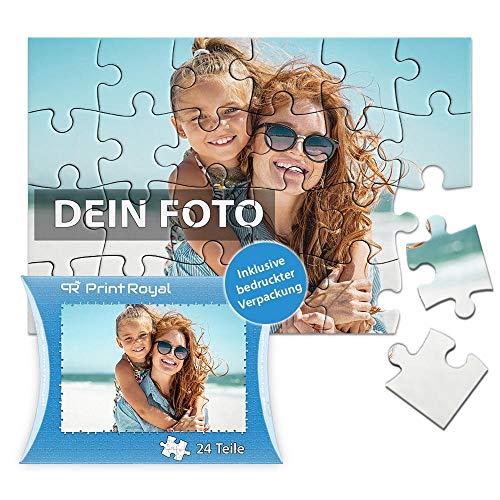 Print Royal Foto-Puzzle 24 - 1000 Teile in inkl. hochwertiger Verpackung - mit eigenem Foto Bedrucken - Puzzle selber gestalten - 24 Teile in Kartonverpackung
