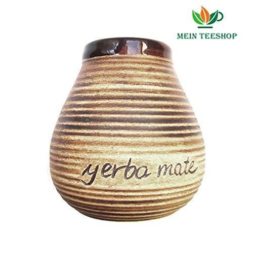Mate beker keramiek met opschrift Yerba Mate