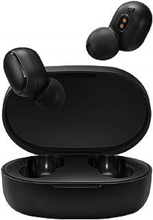 Xiaomi Redmi AirDots True Wireless Earbuds, Bluetooth V5.0 TWS Auriculares estéreo con funda de carga portátil, 12 horas de duración de la batería con Google Voice Assistant