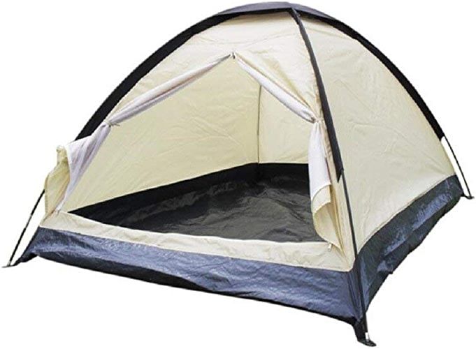 GZZ Guo Outdoor Products Outdoor Fashion M Tentes Blanches pour Camping, Alpinisme, Aventure, tentes Multi-usages Solides et durables, tentes en Fibre de Verre