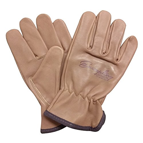 Heavy Duty Goatskin Leather Work Gloves for Men and Women. General Purpose Utility, Driver, Rigger,...