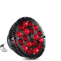 Red Light Therapy lamp 36W 18 LED Instrument 660nm and 850nm Near Infrared Combination Bulb can be Used for Pain and Skin Relief, Suitable for Home/Office use (Big)