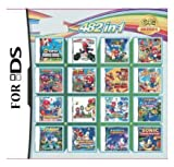 Cenxaki 482 in 1 Super Combo Game Pack Game Card Cartridge Compatible with DS 2DS 3DS Games