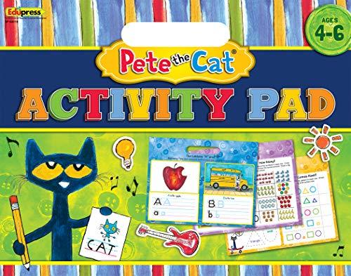 Edupress Pete The Cat Activity Pad (EP62018)