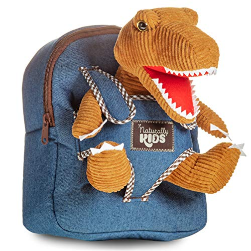 Dinosaur Toys for Kids 3-5 Toddler Backpack for Boys - Dinosaur Toys for 2 3 4 5 6 Year Old Boys Birthday Gift - Dinosaur Backpacks for Boys Dinosaurs for Boys Dino Toy - Dinosaur Plush Stuffed Animal