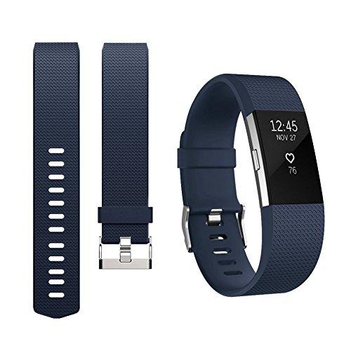 Alfya Correa de repuesto ajustable para Fitbit Charge 2 Smartwatch Fitness