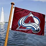 WinCraft Colorado Avalanche Boat Marine and Golf Cart Flag