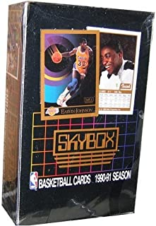 990/91 Skybox Series 1 Basketball Wax Box UNOPENED FACTORY SEALED