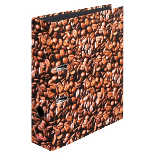 Herlitz 10507812 Ordner A4 S80 Kaffee