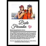 Definition Poster mit Wunschbild und Name | Beste Freundin