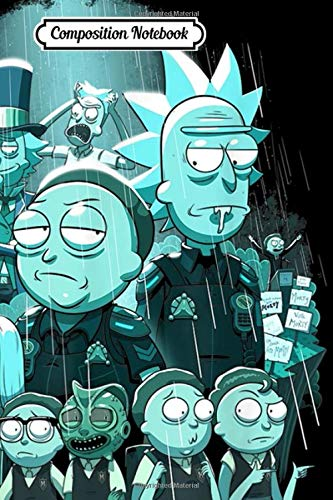 Composition Notebook: Rick and Morty Tales From The Citadel Journal Notebook Blank Lined Ruled 6x9 100 Pages