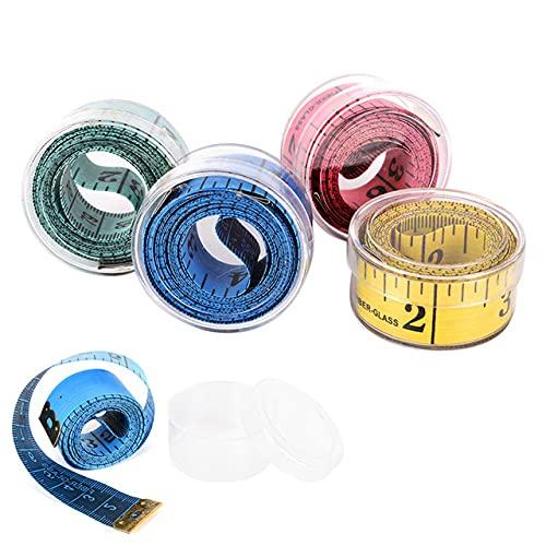 Venta caliente 1.5 m cuerpo medición regla costura sastre cinta métrica mini suave plana regla centímetro medidor costura cinta métrica