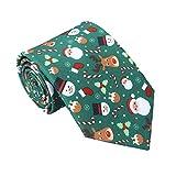 Demarkt Herren Weihnachts Krawatten Party Abend Festival druckte Krawatten Weihnachten Krawatte