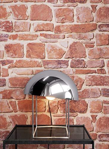 NEWROOM Steintapete Tapete Rot Mauer Stein Rustikal Papiertapete Papier moderne Design 3D Optik Steintapete Ziegelstein Backstein Mauerwerk Klinker Loft inkl. Tapezier Ratgeber