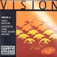 CUERDA VIOLIN - Thomastik (Vision/Vi03a) (Alma Sintetica Entorchado/Plata) 3ェ Medium Violin 4/4