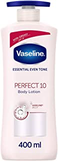 Vaseline Body Lotion Perfect 10, with AHA exfoliants for anti-aging and whitening, 400ml
