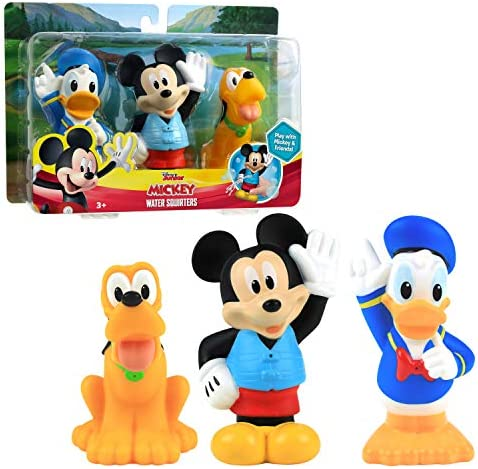 Mickey Mouse Bath Squirters 3 Pack Amazon Exclusive Multi color product image
