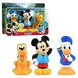 Disney Junior Mickey Mouse Bath Toy Set, Includes Mickey...