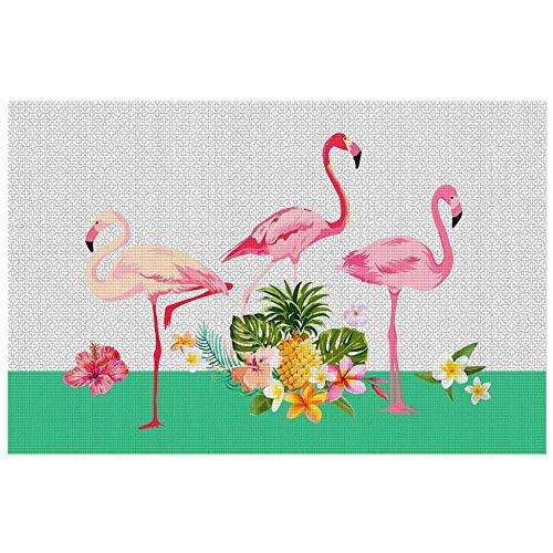 décorline set de table 28.5x43.5cm pvc flamingo beach