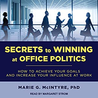 Secrets to Winning at Office Politics audiobook cover art