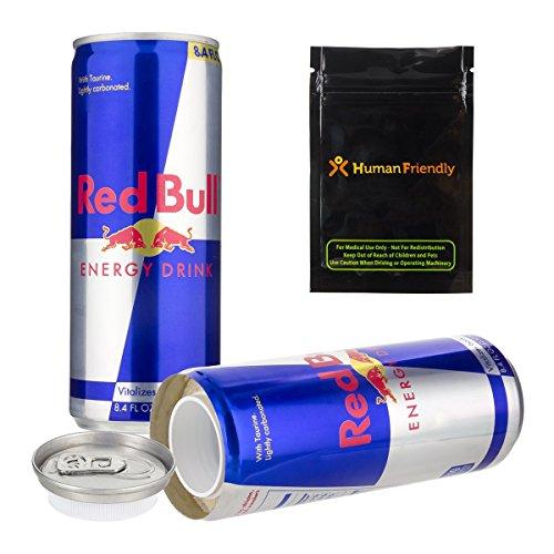 Red Bull Ablenkung Sicher Geheim Versteck Dose 8oz W Humanfriendly Geruch Sicher Tasche
