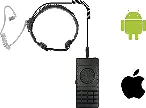 Best bluetooth throat mic headset Reviews