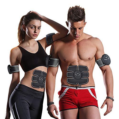 Langguth Fitness, EMS Trainingsgerät für Männer und Frauen, Bauch-Oberschenkel-Trainer