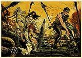 SHENGZI Canvas Poster Retro Poster Mad Max Classic Movie