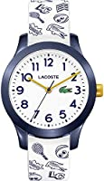 Lacoste Unisex Children's Analogue Quartz Watch with Silicone Strap 2030011