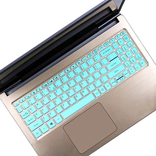 Keyboard Cover Fit 15.6 inch Acer Aspire 5 Slim Laptop | A515-43 A515-54 A515-54G | Acer Swift 3 SF315, Acer Aspire 5 Skin -Hot Blue