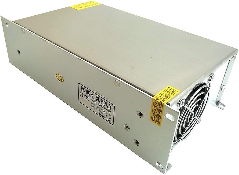 punto de venta barato Sunnyday Fuente de alimentación conmutada DC 48V 25A 1200w 1200w 1200w Adaptador de Corriente Controlador Transformador  venta