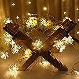 ADSE LED-Lichterkette, leichte Schneebatterie LED-Lichterkettenmodelle, EIN Kleiner Raum dekorative...