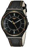 Swatch Orologio al Quarzo Unisex Carbonata 42.7 mm