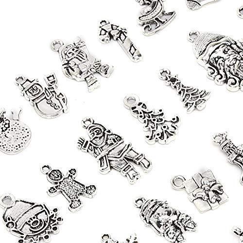Accesorios de artesanía de bricolaje de plata, aleación hecha de material de aleación de calidad de galvanoplastia para hacer joyería