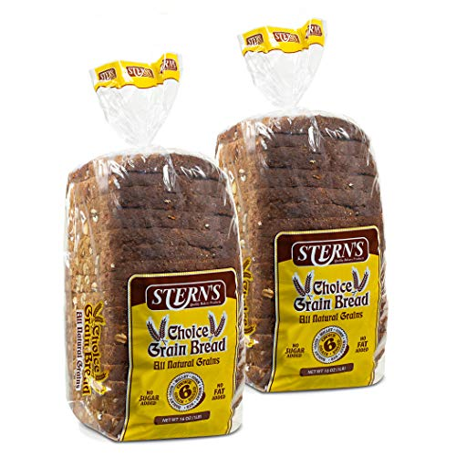 Multigrain Bread-2 Pack-16 oz Per Loaf | Delicious Sandwich Bread | Whole Grain Bread |Kosher Bread| Fresh Bread | Bakery Bread Sliced | Dairy & Nut Free | Stern's Bakery