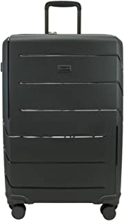 QANTAS London 68cm 4 Wheel Trolley Suitcase, (Black), (QF789-70-A)