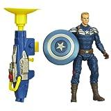Toy Zany Captain America Super Soldier Gear Grapple Cannon Captain America Action Figure