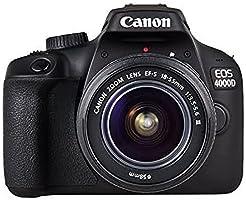 Canon EOS 4000D EF-S 18-55mm III Lens - Black