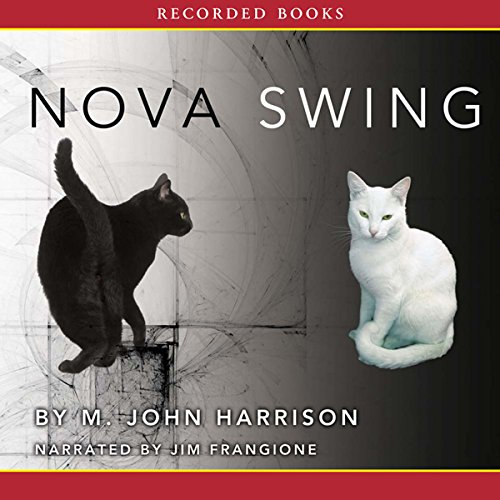 Nova Swing audiobook cover art