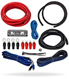 InstallGear 4 Gauge Complete Amp Kit Amplifier Installation Wiring Wire