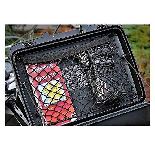FENGFENG Sun Can Luggage Storage Organizer Cargo Mesh Net Fit For Vario Case Panniers Fit For BMW F650GS F700GS F750GS F800GS R850GS R1200GS R1250GS