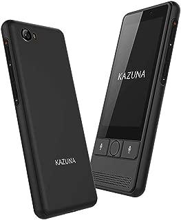 KAZUNA eTalk5 (特典付き)72言語対応 グローバルSIM同梱モデル 2年間 (ブラック)